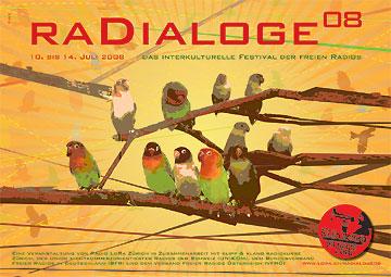 Plakat Radialoge08